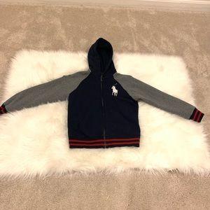 Polo Ralph Lauren boys hooded sweat jacket